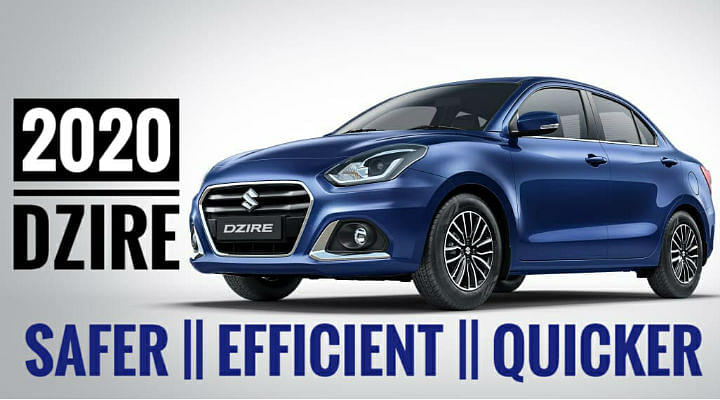Maruti Dzire First Look Review Image
