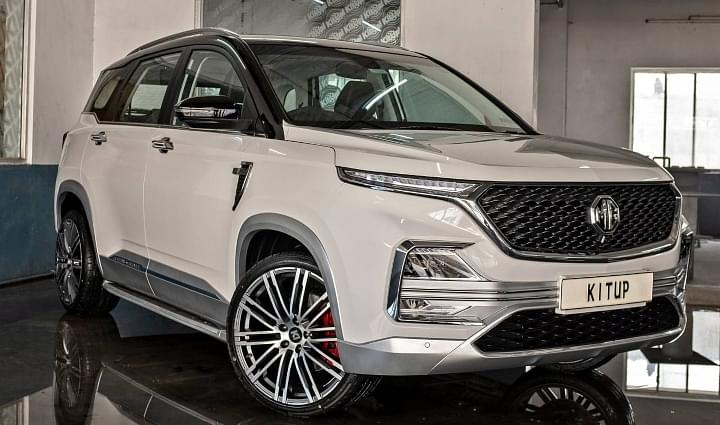 20-Inch Alloy Wheels MG Hector Image