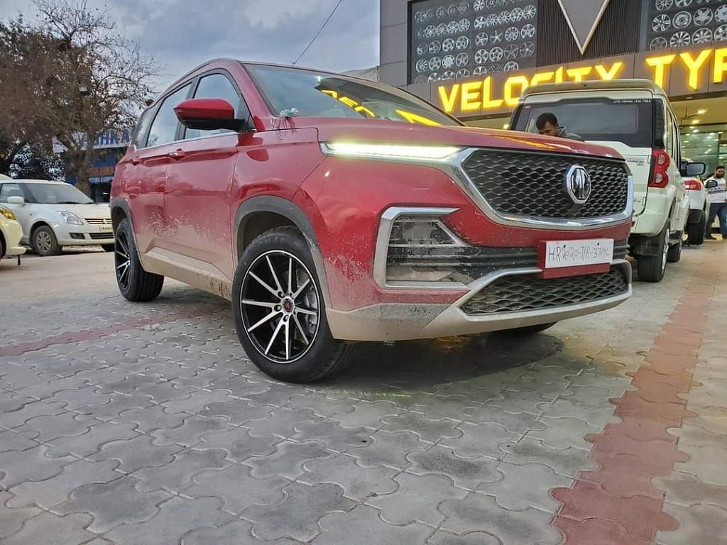 MG Hector Modified Alloy Wheels