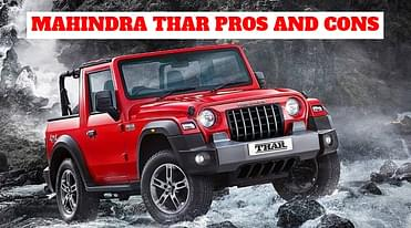 2020 Mahindra Thar Pros and Cons - Is it All the Car You Need?